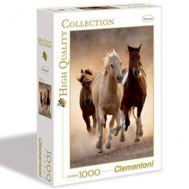 Puzzle 1000 dílků Běžící koně