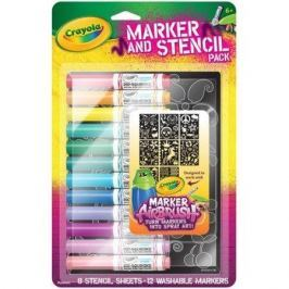 Náhradní fixy a šablony Crayola