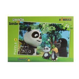 Puzzle Krtek a Panda 24 dílků Pro kluky