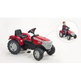 Falk Traktor červený McCormick XTX 165 Na ven a sport