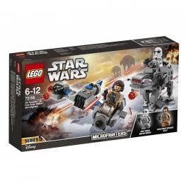 LEGO® Star Wars™ LEGO® Star Wars™ 75195 Snežný spídr™ a kráčející kolos Prvního řádu™