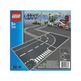 LEGO® City LEGO® City Zatáčka a křižovatka ve tvaru T 7281 Stavebnice Lego