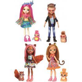 Enchantimals panenka a zvířátko Pro holky
