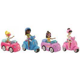 Mattel Barbie mini vozítková panenka Panenky a barbie