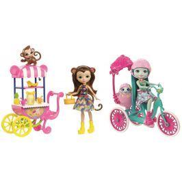 Mattel Enchantimals herní set na kolech