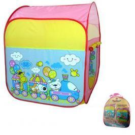Dětský stan vláček (8594166097834) Hrací domečky