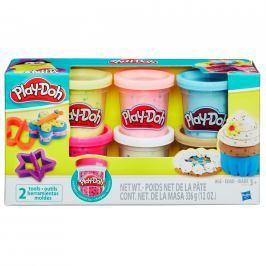 Hasbro Play Doh sada s konfetami a 2 vykrajovátka