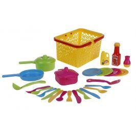Kuchyňský set v košíčku