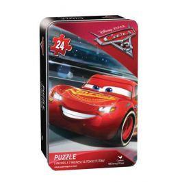 OGI Cars 3 puzzle v plechové krabičce