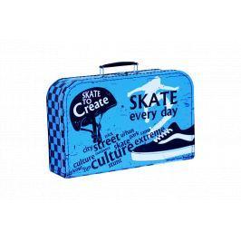Kufřík Skate modro/černý 35 cm