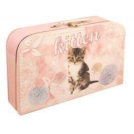 Kufřík Kočky 35 cm Kreativní a naučné