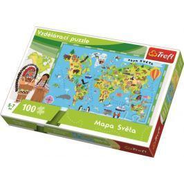 Puzzle Mapa Světa Stavebnice a puzzle