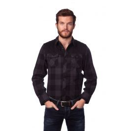 Brave Soul Pánská košile Vorgia_aw15 černá