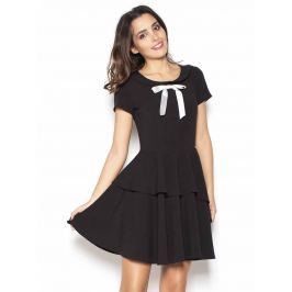 Katrus Dámské šaty K367_black