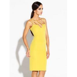 Dursi Dámské šaty DRESS 055 YELLOW LEMON