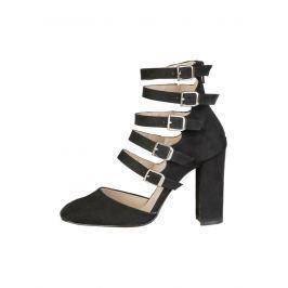Made in Italia Dámské sandály na podpatku CORA_NERO