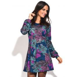 Baba Design Dámské šaty 6687-W6D13-BLU