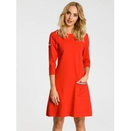 Made of Emotion Dámské šaty M343_red