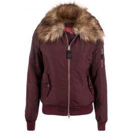 Paul Parker Dámská zimní bunda Pa9626271_DARK RED