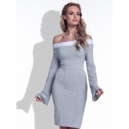 Fimfi Dámské šaty I175_Grey