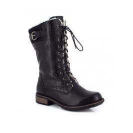 Kimberfeel Dámské kotníčkové boty DELPHIA_BLACK