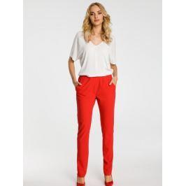 Made of Emotion Dámské kalhoty M351_red