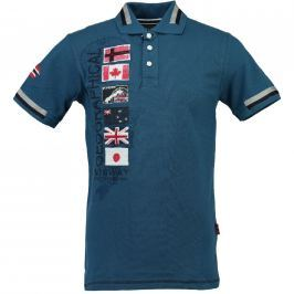 Geographical Norway Pánské polo tričko KARABATI SS MEN 100_Blue