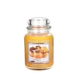 Village Candle Vonná svíčka ve skle, Pomeranč a skořice - Orange Cinnamon 116326341 26 oz