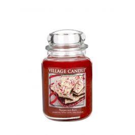 Village Candle Vonná svíčka ve skle, Mátové potěšení - Peppermint bark 116326820 26 oz