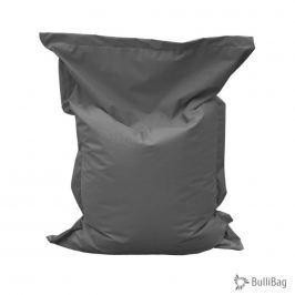 Relaxační vak BulliBag-šedý, 100%polyester,  145cm X 100cm