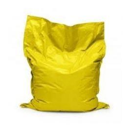 Relaxační vak BulliBag-žlutý, 100%polyester,  145cm X 100cm
