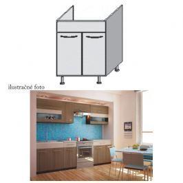 Kuchyňská skříňka dřezová, rigoleto dark/light, JURA NEW I DZ-80