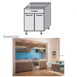 Kuchyňská skříňka, rigoleto dark/light, JURA NEW I D-80 S1