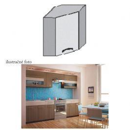 Kuchyňská skříňka rohová, rigoleto dark, JURA NEW I GN-58 * 58