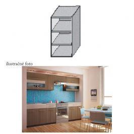 Kuchyňská skříňka policová, wenge, JURA NEW I GO-20
