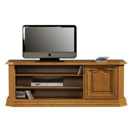 Televizní stolek v rustikálním stylu s možností výběru moření typ 21 H KN642