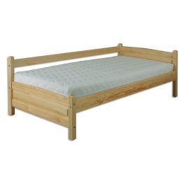 Dřevěná klasická postel o šířce 90 cm typ KL132 KN095