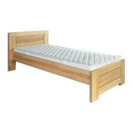 Dřevěná stylová postel o šířce 90 cm typ KL161 KN095