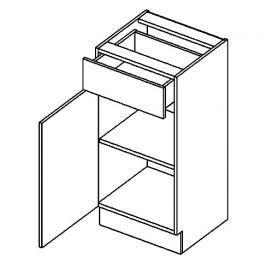 D40S/1 dolní skříňka se zásuvkou BIANCA levá
