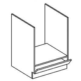 DK60 skříňka na vestavnou troubu grafit bis KN2000