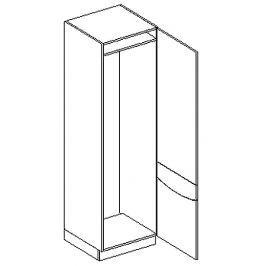 D60LO skříňka na vestavnou lednici SMILE jas/cap pravá