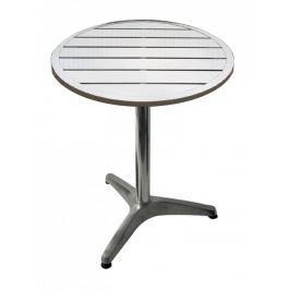 Zahradní hliníkový stůl kulatý 60 cm MTA 001