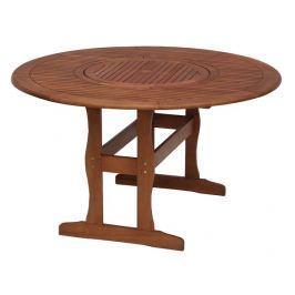 Stůl kulatý s otočným tácem MALAGA