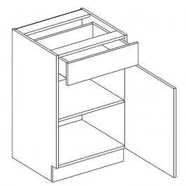Skříňka dolní 50cm ALINA D50 S/1 pravá