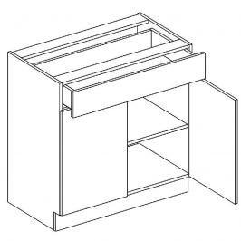 Skříňka dolní se zásuvkou LAURA D80 S/1