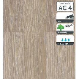 Laminátová podlaha v dekoru dub šedožlutý 8 mm Castello Classic