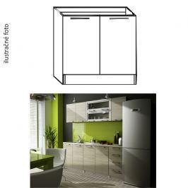 Kuchyňská skříňka dřezová, dub sonoma, IRYS NEW DZ-80