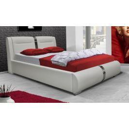 Čalouněná manželská postel 160x200 cm s možností výběru potahu typ VII KN241