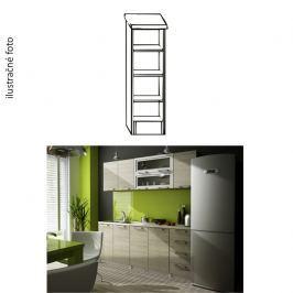 Kuchyňská policová skříňka, bílá, IRYS D3P-20