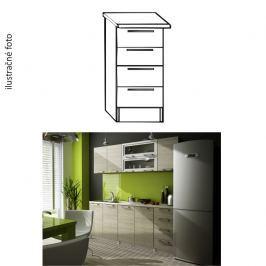 Kuchyňská skříňka, dub sonoma, IRYS DS-40